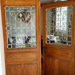 Porte ancienne à la Cadole de Chardonnay