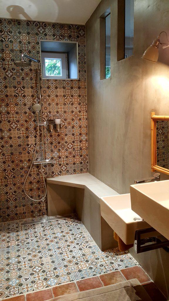 Douche à l'italienne chambre La Montagny