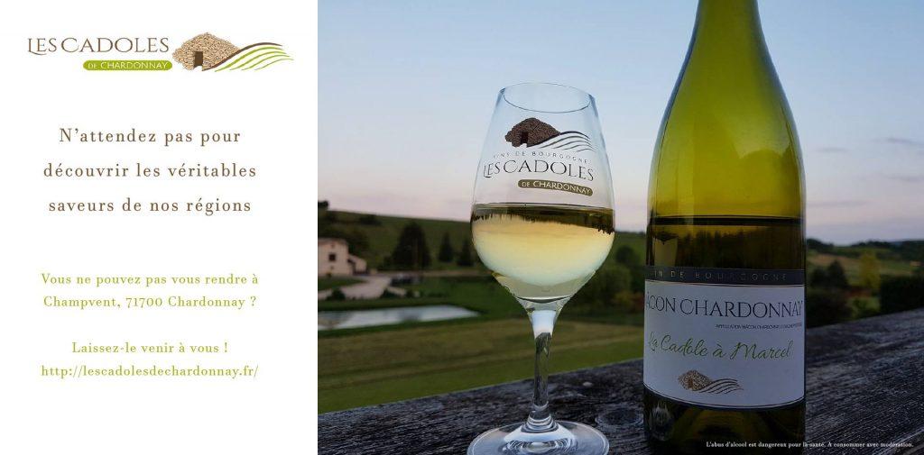 Les Cadoles de Chardonnay pour une dégustation inoubliable