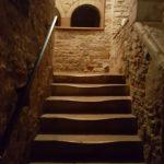 Escaliers cour intérieure privée mâconnaise