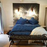 Chambre Viré-Clessé, notre 3ème chambre enfin prête et disponible à la location à La Cadole de Chardonnay, gîte et maison d'hôtes à Chardonnay.