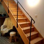 Escalier qui mène à la chambre Viré-Clessé